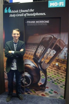 Frank Morrone NAMM Blue Microphones MoFi award winning re-recording sound mixer