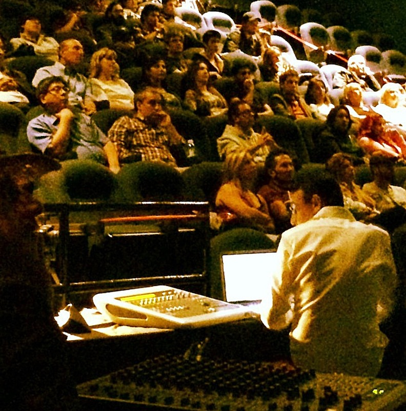 Frank Morrone Vaughan Film Festival award winning re-recording mixer