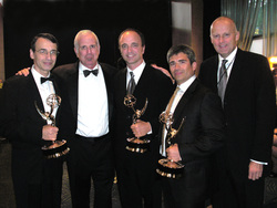 Frank Morrone Joel Surnow Stan Hubbard Emmys award winning re-recording sound mixer