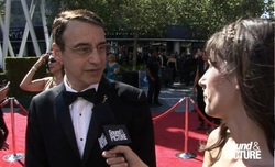 Frank Morrone Emmy Red Carpet